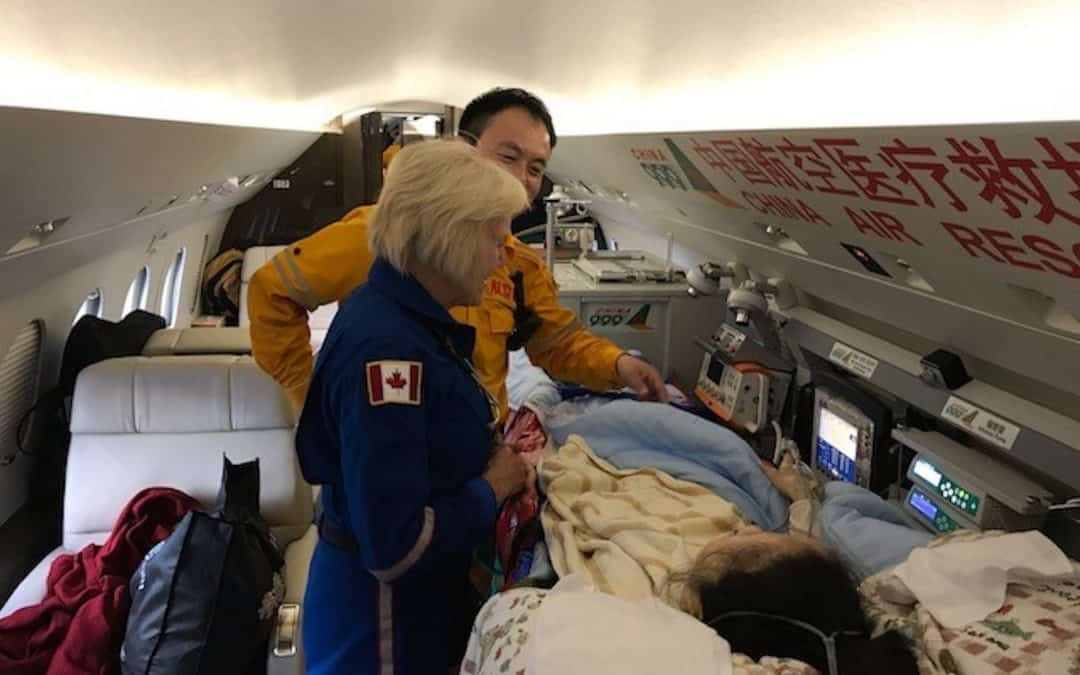 What is a commercial airline medical Flight Nurse?