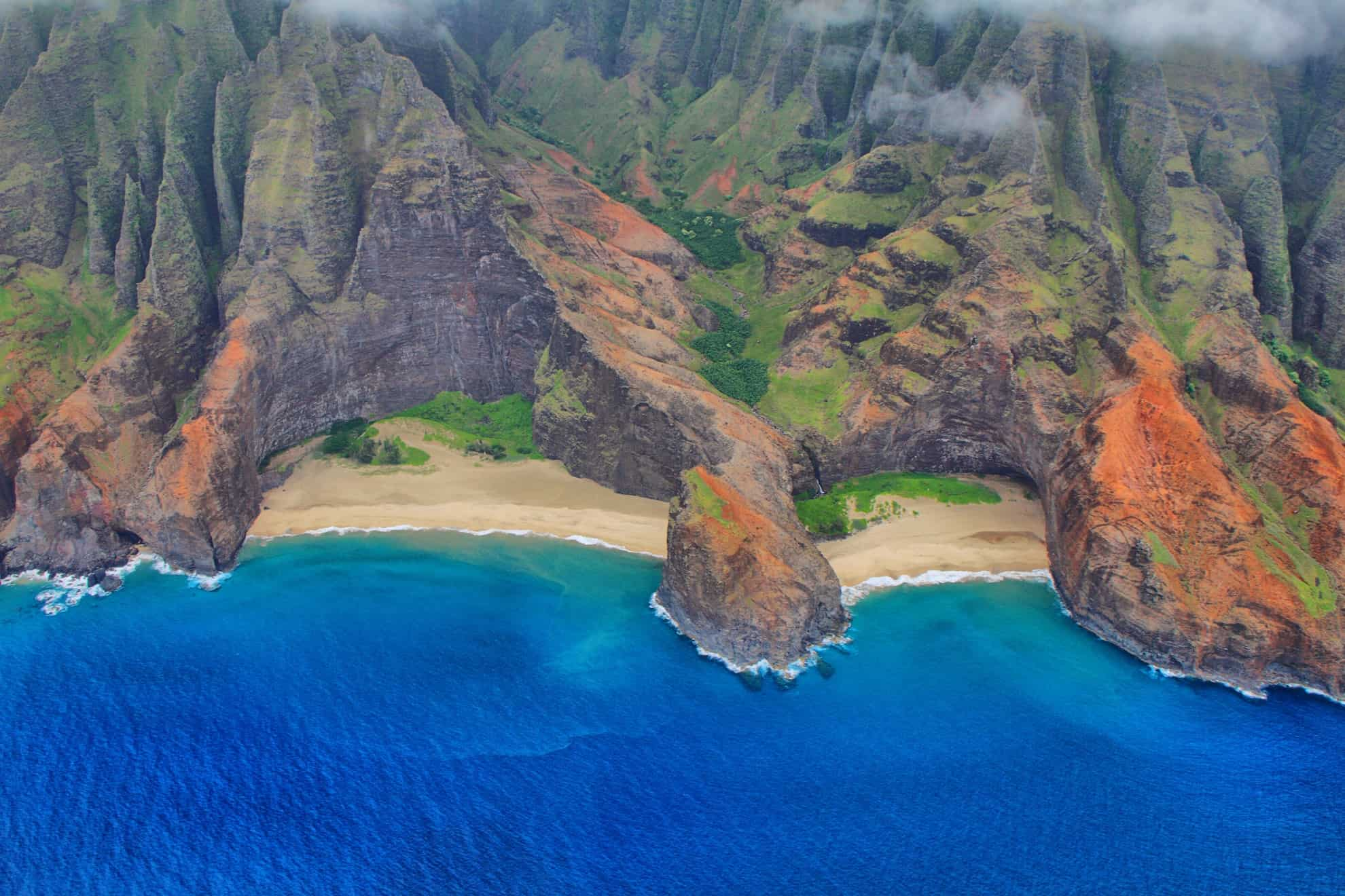 LIFESUPPORT medical air escort Princeville Kauai aerial