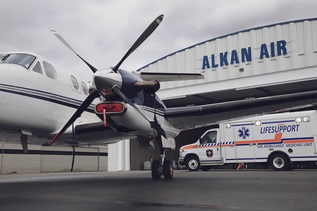 Air Medical Escorts Victoria Airport min