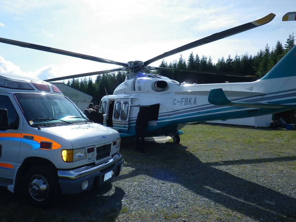 lifesupport Air transport EMS Standby helicopter