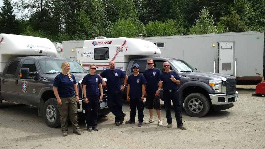 lifesupport Air transport EMS Standby team