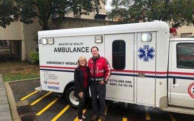 LIFESUPPORT Donates a New Ambulance This Holiday Season