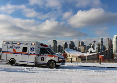 Ground Ambulance Medic YYC Calgary
