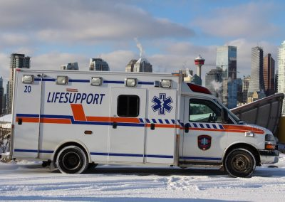 Ground Med Medical Transport Division Ambulance LIFESUPPORT