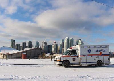 Ground Medical Transport Calgary Ambulance lifesupport