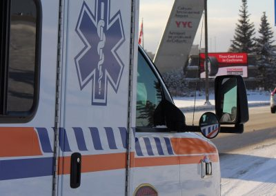 Ground Medical Transport lifesupport calgary ambulance
