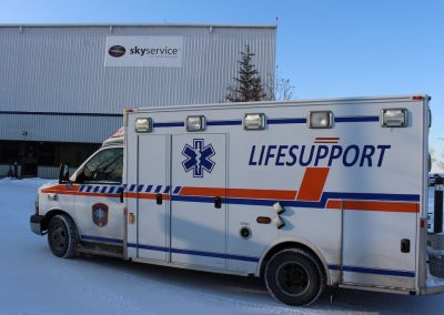 LIFESUPPORT Air medical services ambulance Calgary ground
