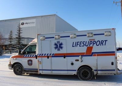 LIFESUPPORT Air medical services ground ambulance Calgary med