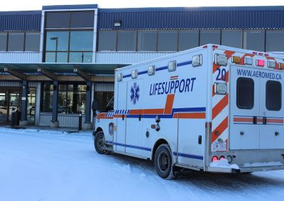 Office LIFESUPPORT Air medical services ground ambulance Calgary groundmed